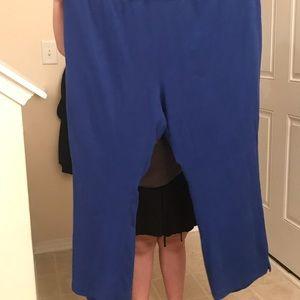 Pants - Bootcut knit pull-on pants sz 3x